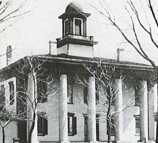 First Black Hawk County Court House