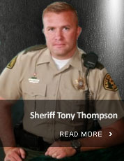 Sheriff Tony Thompson